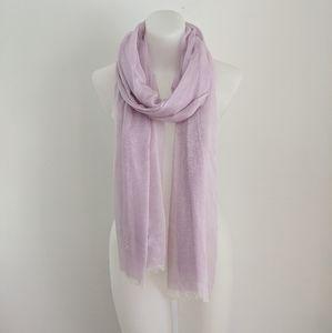 NORDSTROM Modal Silk Blend Scarf, Lilac